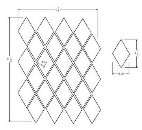 Diamond Grid Knitting Pattern : MOSAIC PATTERNS PATTERN DRAWING SOFTWARE 2000 Free Patterns